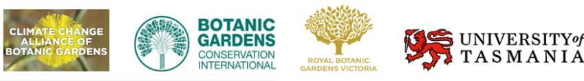 Znalezione obrazy dla zapytania: Climate Change Alliance of Botanic Gardens