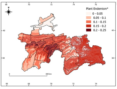 Jak zmiany klimatu mogą wpływać naróżnorodność gatunków endemicznych? – lekcja zprzeszłości naprzykładzie hotspotu górskiej bioróżnorodności wTadżykistanie